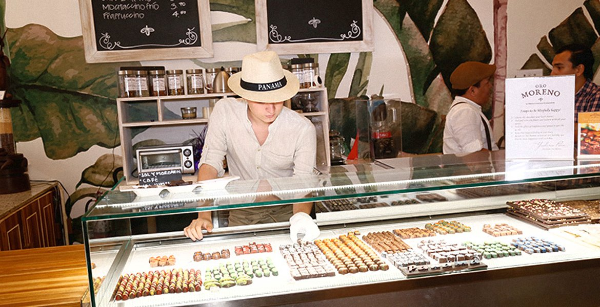 Chocolate tasting in the middle of the colonial town?