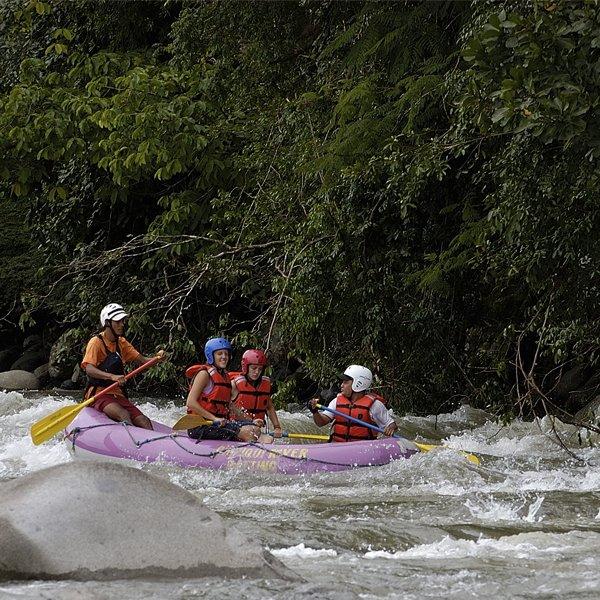 Rafting at Rio Fonseca Class III & IV